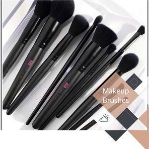●10 Piece Faux Mink Brush Set ●
